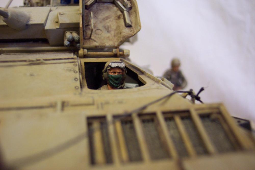 Bradley-BMP -  Tamiya Italeri 1/35 Golfe199131