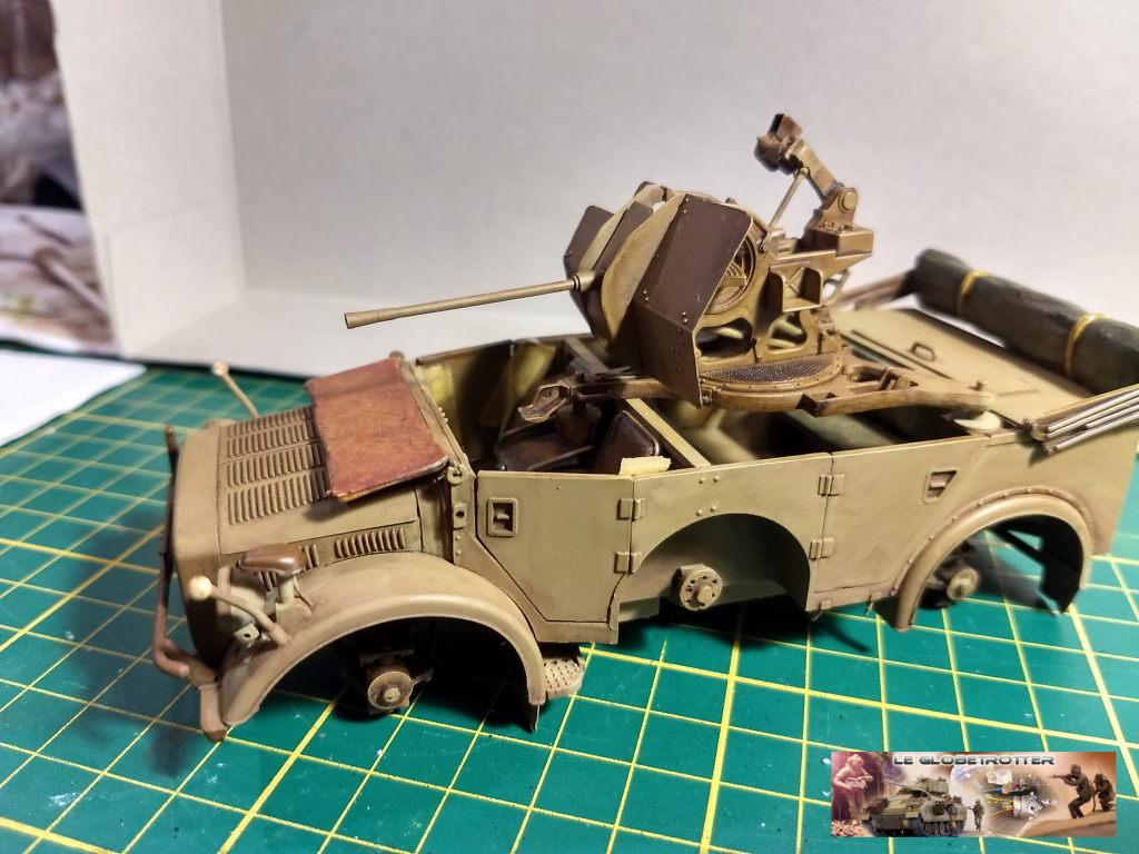 Horch 1A + flak 38 - Tamiya + scratch + impression résine - 1/35 Horch--c009