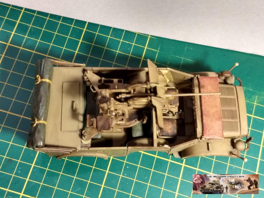 Horch 1A + flak 38 - Tamiya + scratch + impression résine - 1/35 Horch--c012