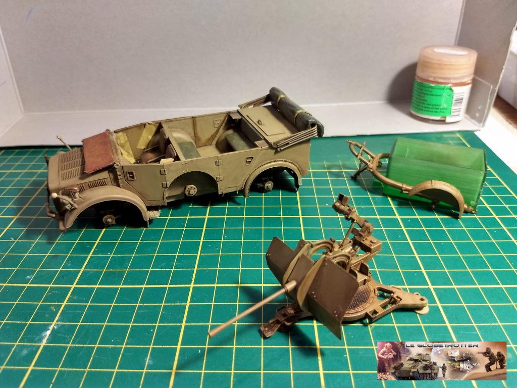 Horch 1A + flak 38 - Tamiya + scratch + impression résine - 1/35 Horch--c015