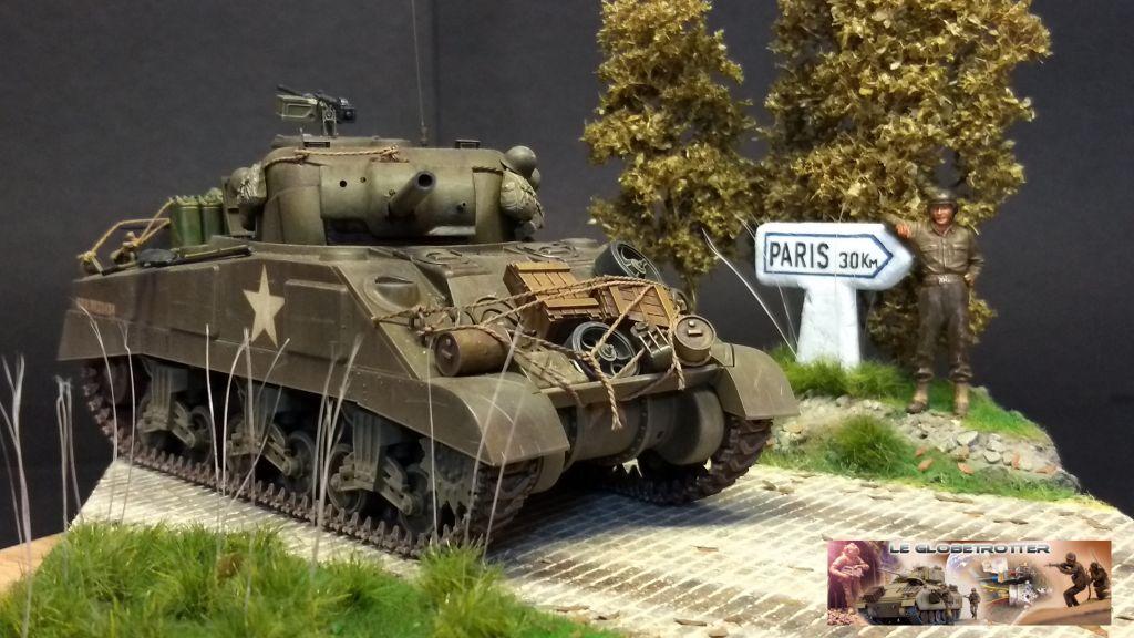 """Sherman M4 - avec tourelle de 76 mm - Tamiya 1/35 """"utopie"""" - Page 3 104"""