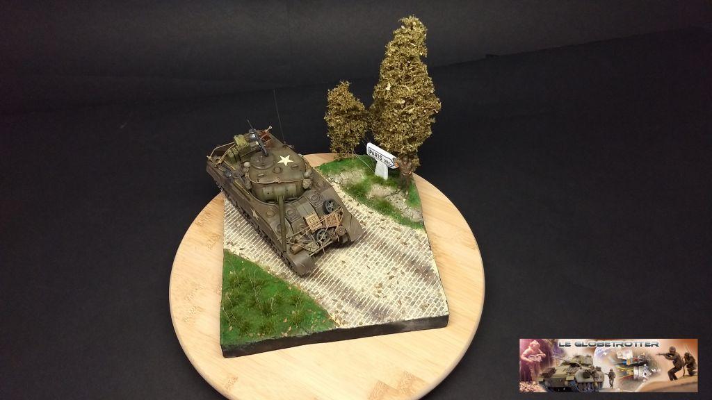 """Sherman M4 - avec tourelle de 76 mm - Tamiya 1/35 """"utopie"""" - Page 3 105"""