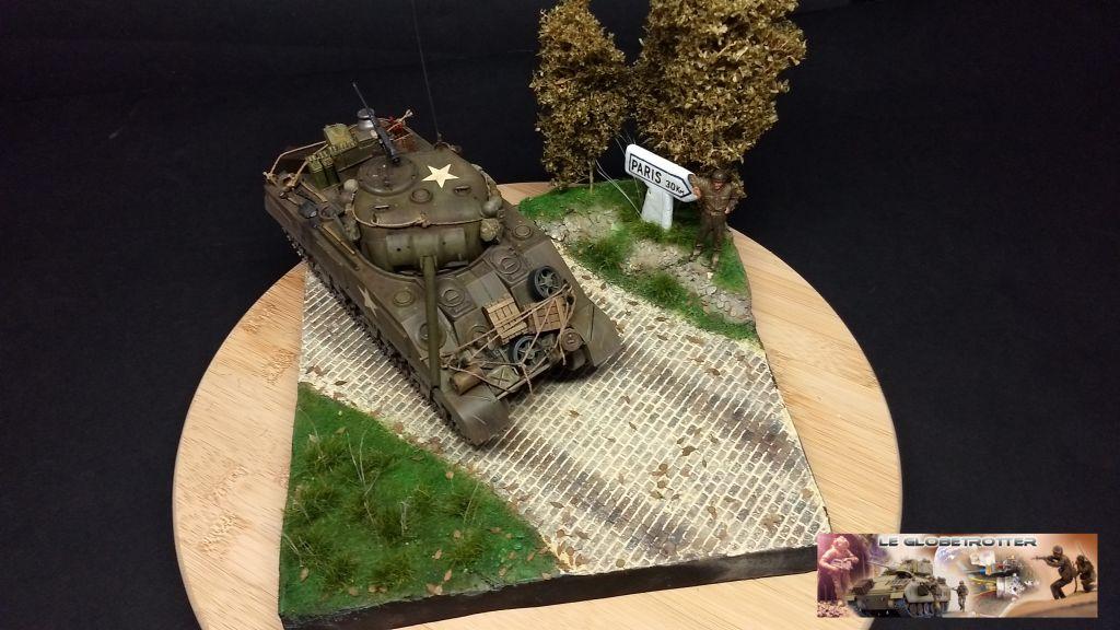 """Sherman M4 - avec tourelle de 76 mm - Tamiya 1/35 """"utopie"""" - Page 3 106"""