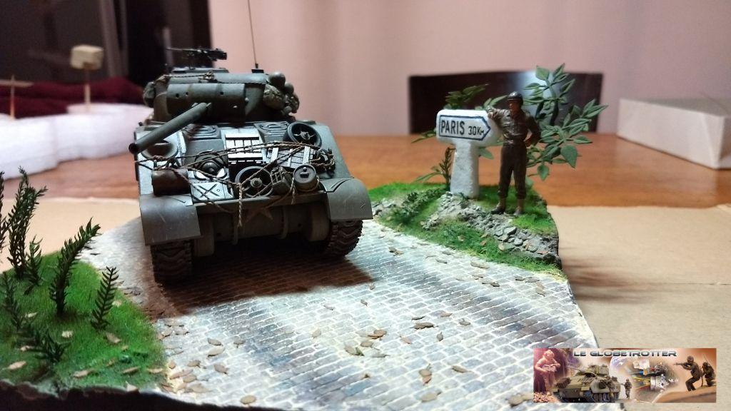 """Sherman M4 - avec tourelle de 76 mm - Tamiya 1/35 """"utopie"""" - Page 2 95"""