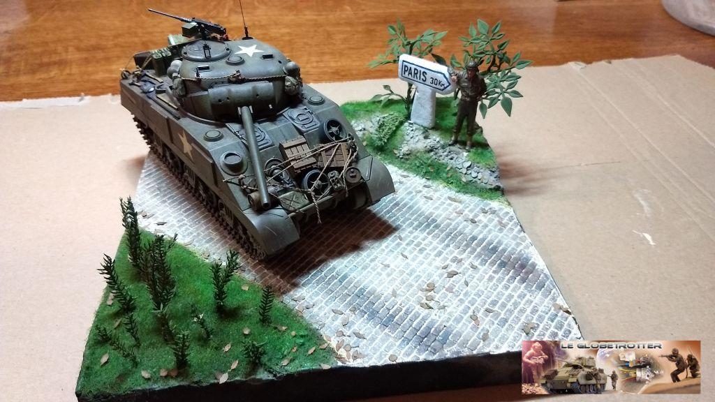 """Sherman M4 - avec tourelle de 76 mm - Tamiya 1/35 """"utopie"""" - Page 2 96"""