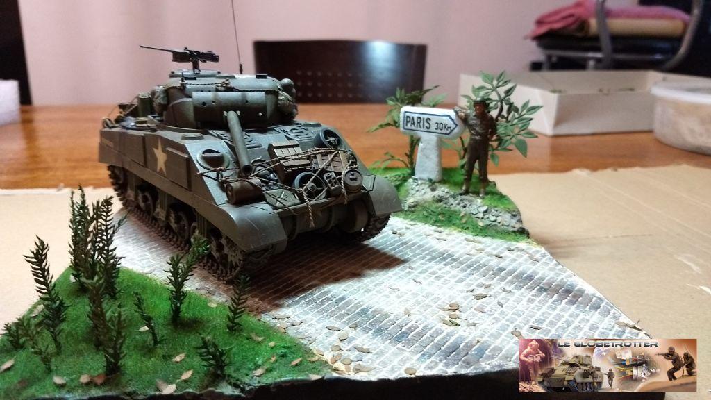 """Sherman M4 - avec tourelle de 76 mm - Tamiya 1/35 """"utopie"""" - Page 2 97"""