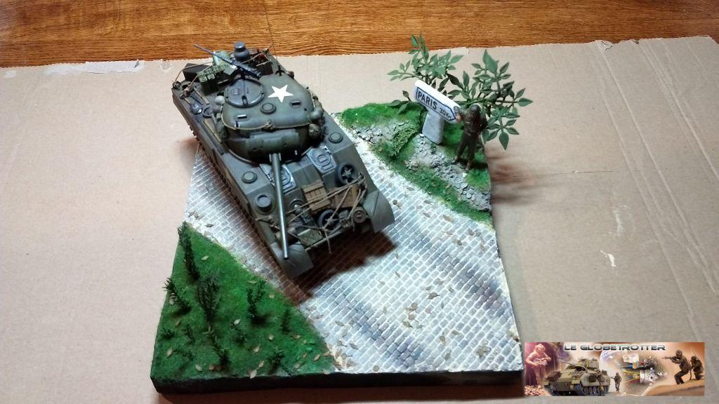 """Sherman M4 - avec tourelle de 76 mm - Tamiya 1/35 """"utopie"""" - Page 2 98"""