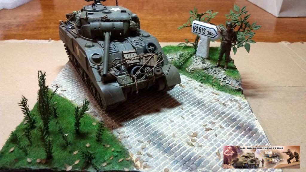 """Sherman M4 - avec tourelle de 76 mm - Tamiya 1/35 """"utopie"""" - Page 2 99"""