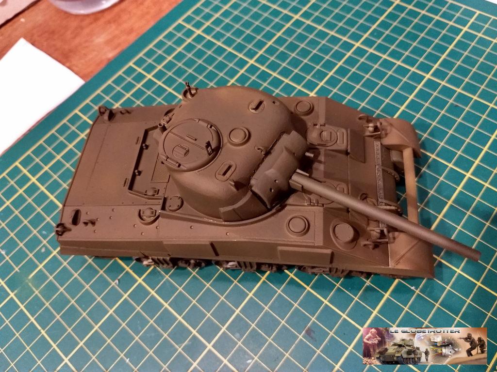 """Sherman M4 - avec tourelle de 76 mm - Tamiya 1/35 """"utopie"""" Sherman-M4-A1--a008"""
