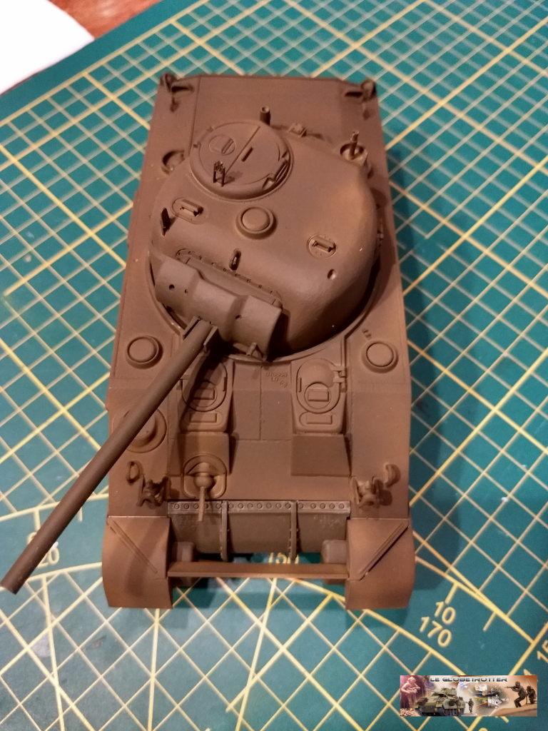 """Sherman M4 - avec tourelle de 76 mm - Tamiya 1/35 """"utopie"""" Sherman-M4-A1--a009"""