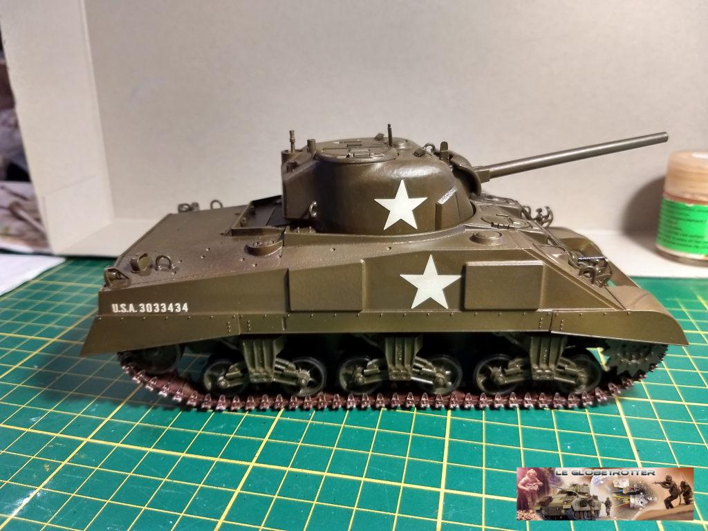 """Sherman M4 - avec tourelle de 76 mm - Tamiya 1/35 """"utopie"""" Sherman-M4-A1--b002"""
