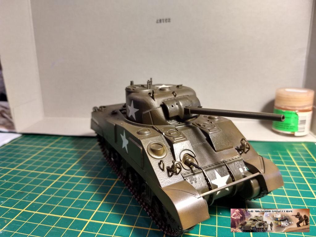 """Sherman M4 - avec tourelle de 76 mm - Tamiya 1/35 """"utopie"""" Sherman-M4-A1--b003"""