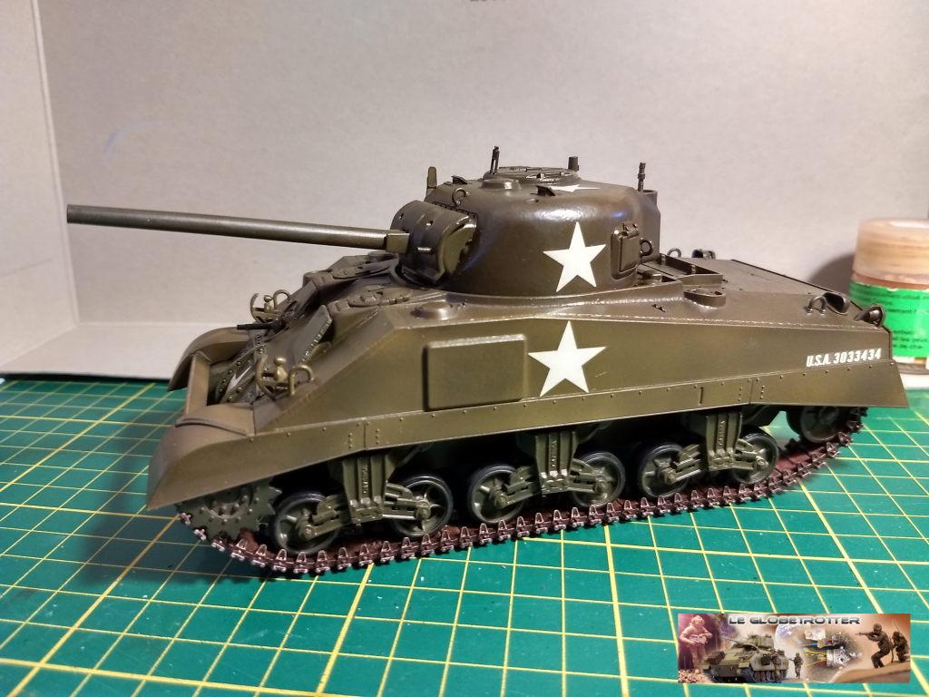 """Sherman M4 - avec tourelle de 76 mm - Tamiya 1/35 """"utopie"""" Sherman-M4-A1--b004"""