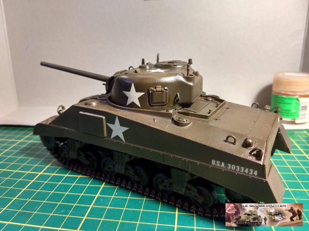 """Sherman M4 - avec tourelle de 76 mm - Tamiya 1/35 """"utopie"""" Sherman-M4-A1--b005"""
