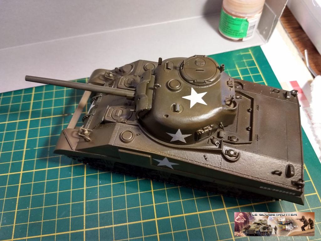 """Sherman M4 - avec tourelle de 76 mm - Tamiya 1/35 """"utopie"""" Sherman-M4-A1--b006"""