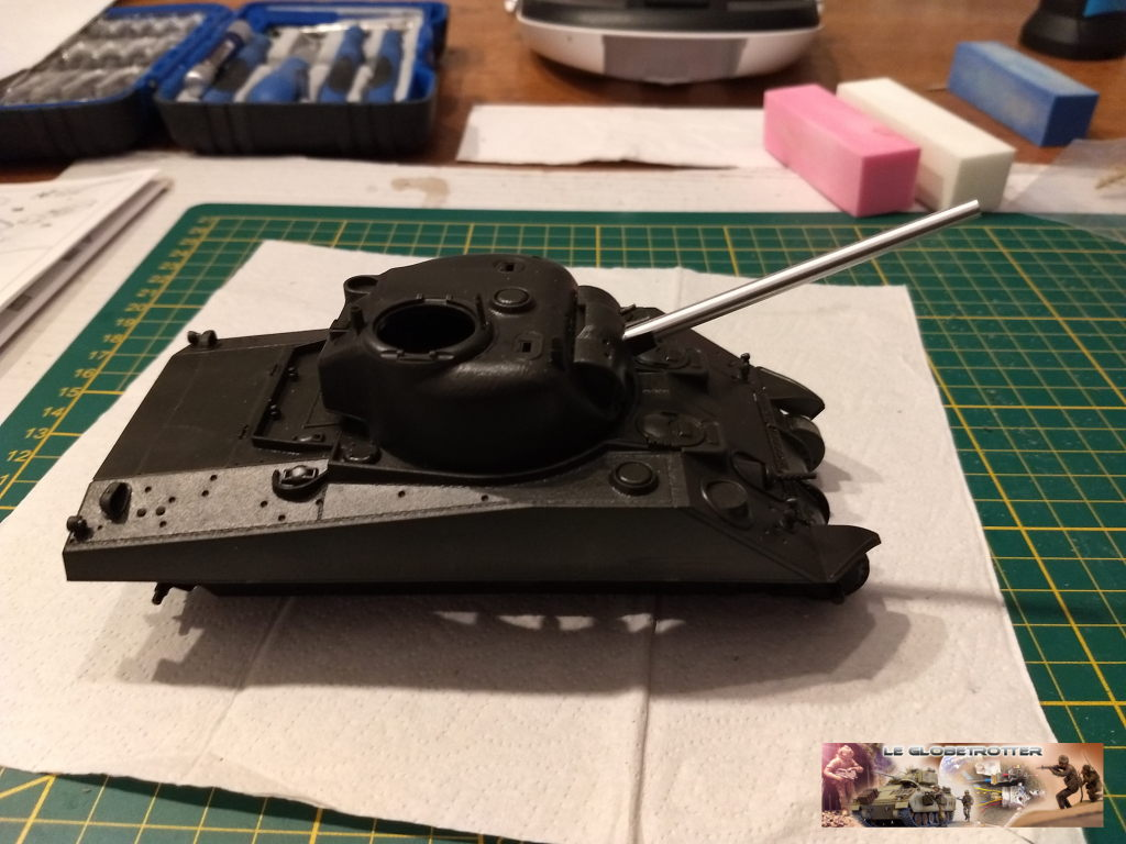"Sherman M4 - avec tourelle de 76 mm - Tamiya 1/35 ""utopie"" Sherman-a007"