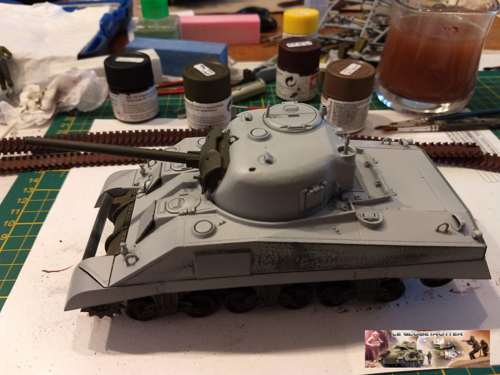 "Sherman M4 - avec tourelle de 76 mm - Tamiya 1/35 ""utopie"" Sherman-a019"
