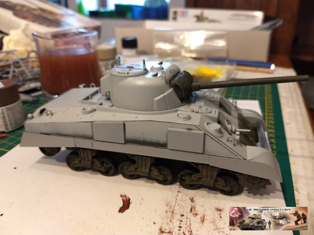 "Sherman M4 - avec tourelle de 76 mm - Tamiya 1/35 ""utopie"" Sherman-a022"