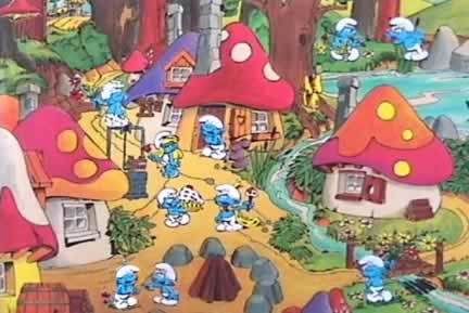 NOEMI - Thread Ufficiale - Pagina 40 Smurfs-village-after