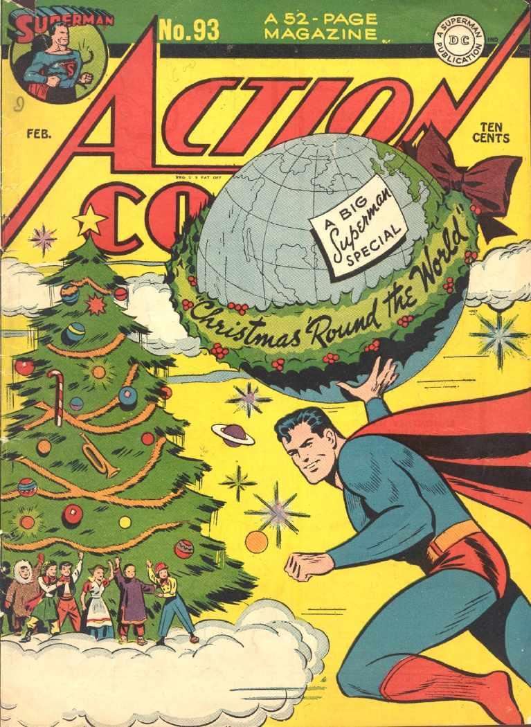 Portadas Navideñas Action-comics-93-february-1946