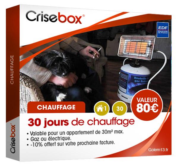 Crisebox : les coffrets cadeaux de la crise Crisebox-Chauffage-golem13