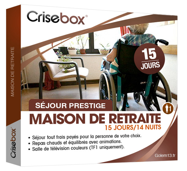 Crisebox : les coffrets cadeaux de la crise Crisebox-maison-de-retraite-golem131