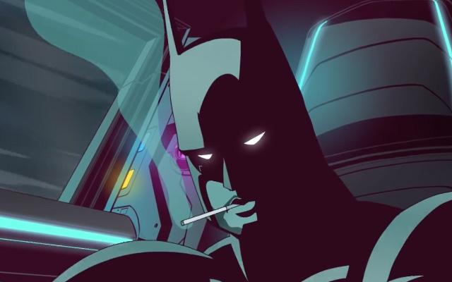 Booba incarne Batman dans son dernier clip animé ! By Félix Mercadante Booba-GOTHAM-clip