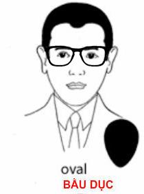 Cách chọn kính nam theo khuôn mặt 2