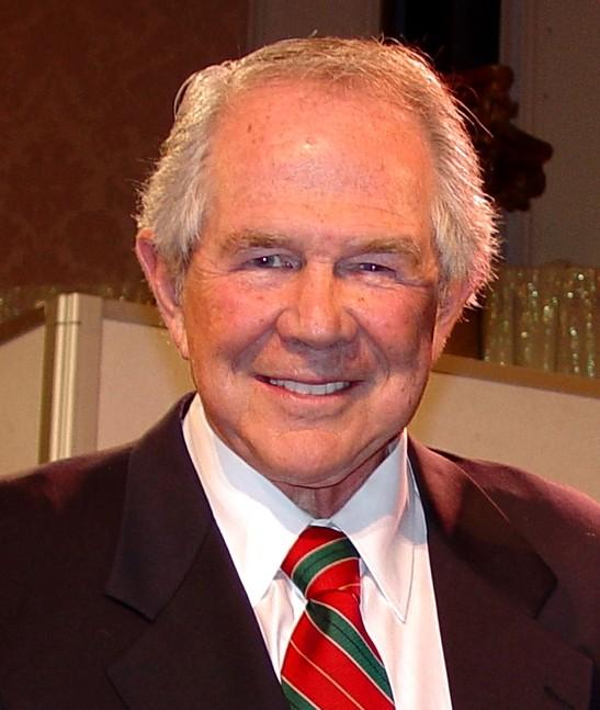 Pat Robertson: El tele evangelista Patrobertson
