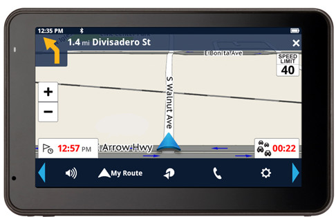 Magellan® Announces New RoadMate Automotive PND Product Line Featuring EasyTouch Screens and Android OS at CES 2014 Magellan_RoadMate5430T-LM