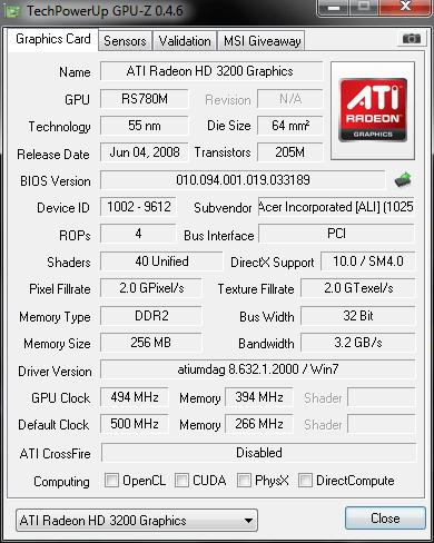 [Analise] Asus Geforce GTX 465 49q
