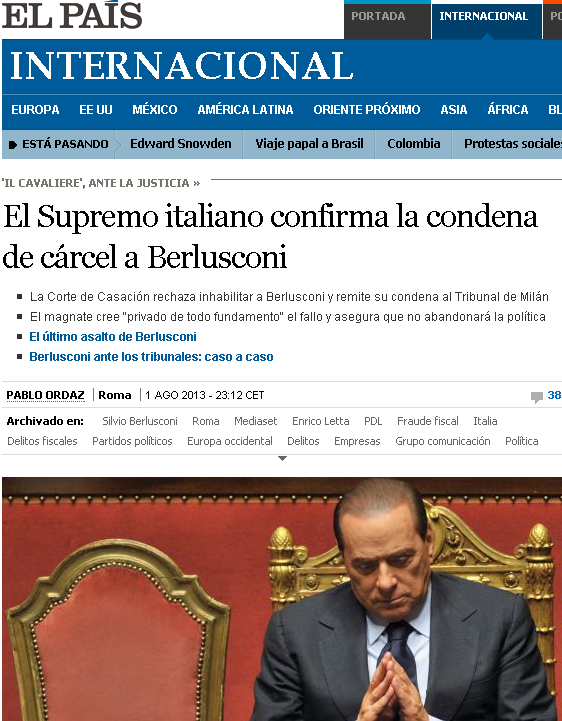 La stampa estera e la condanna di Berlusconi 03802-87263722-6a51-4149-a4df-5a290f98fb15