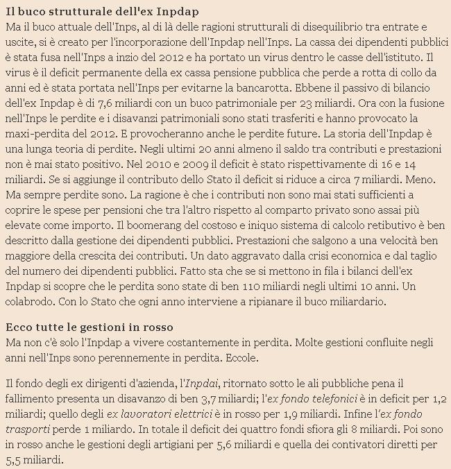 Da 91mila a 40mila euro mensili: la top ten delle pensioni d'oro Inps 03809-0e8d5ea9-e6e8-4a99-ab86-3bad91ed5f2f