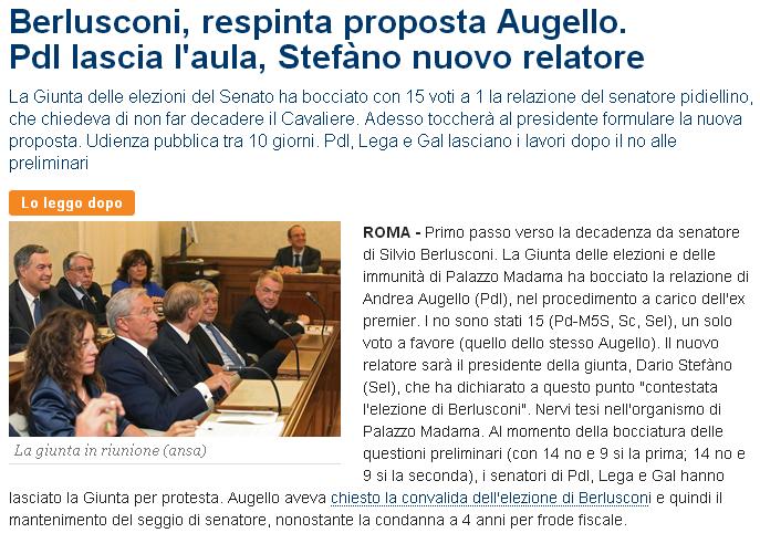 Berlusconi e le strategie per evitare il peggio: dalla grazia alla revisione del processo. 03912-40547536-234b-4970-b9c9-616ded1970c9