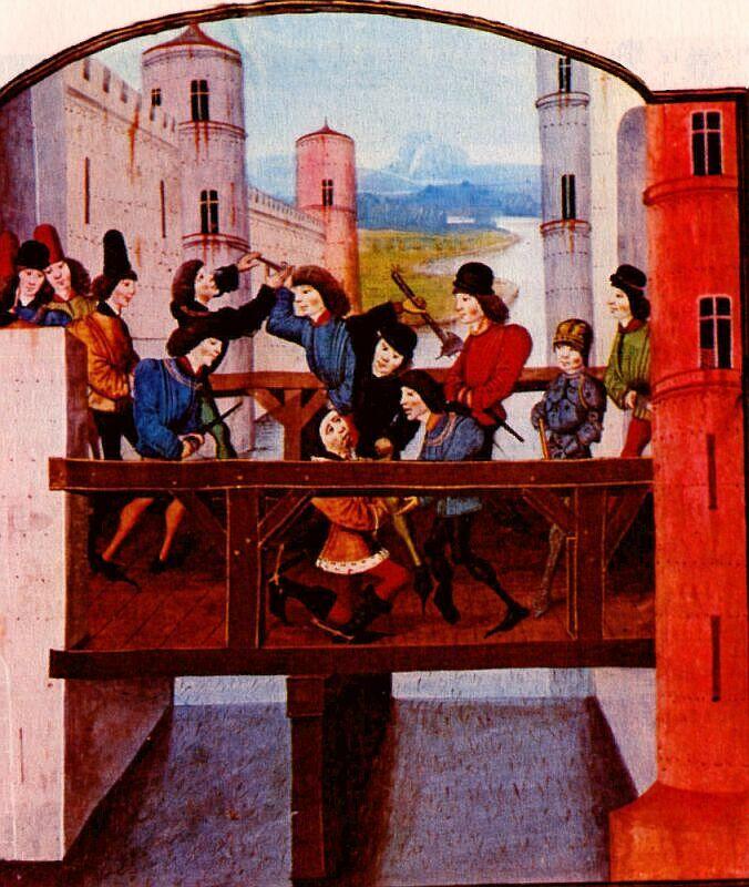 Armagnacs et Bourguignons Montereau