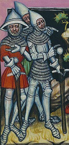 Armagnacs et Bourguignons Hommes-armes