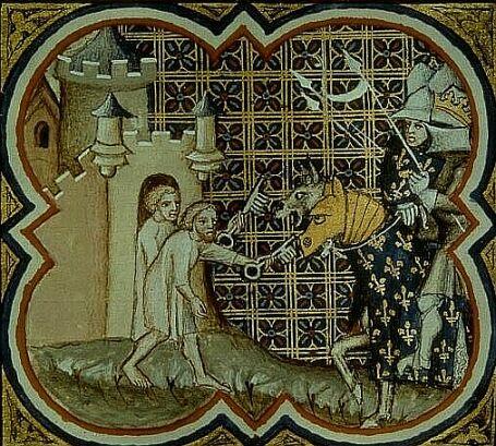 Armagnacs et Bourguignons Philippe-Auguste