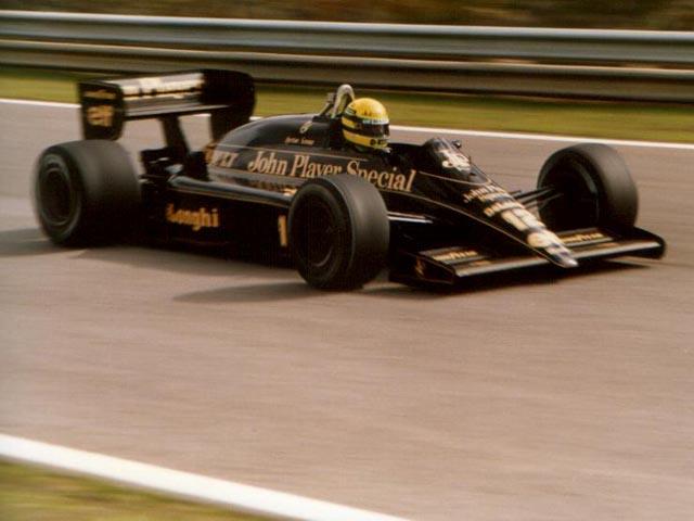 alguns carros que fizeram historia da f1 Senna