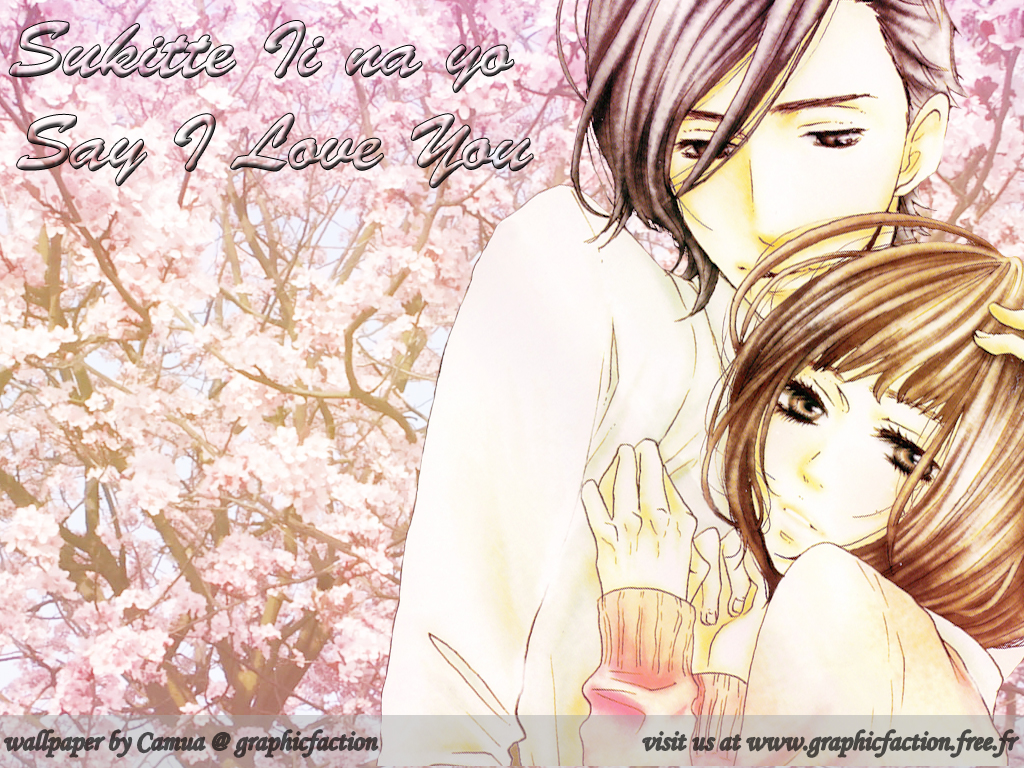 Ma galerie de mes creations graphiques Wall-Sukitte-Ii-na-yo-Say-I-Love-You