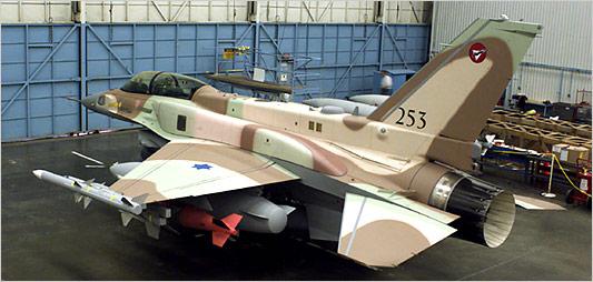 مقاتلات سلاح الجو الاسرئيلى من طراز f16 s عادت للخدمه  F16_span.2