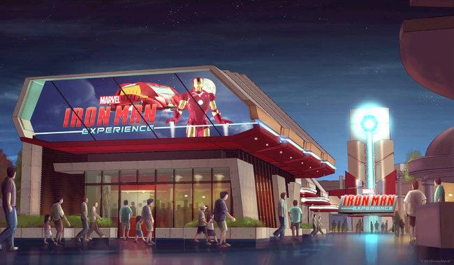Premiere attraction Marvel de Disney Disneyjp-popup