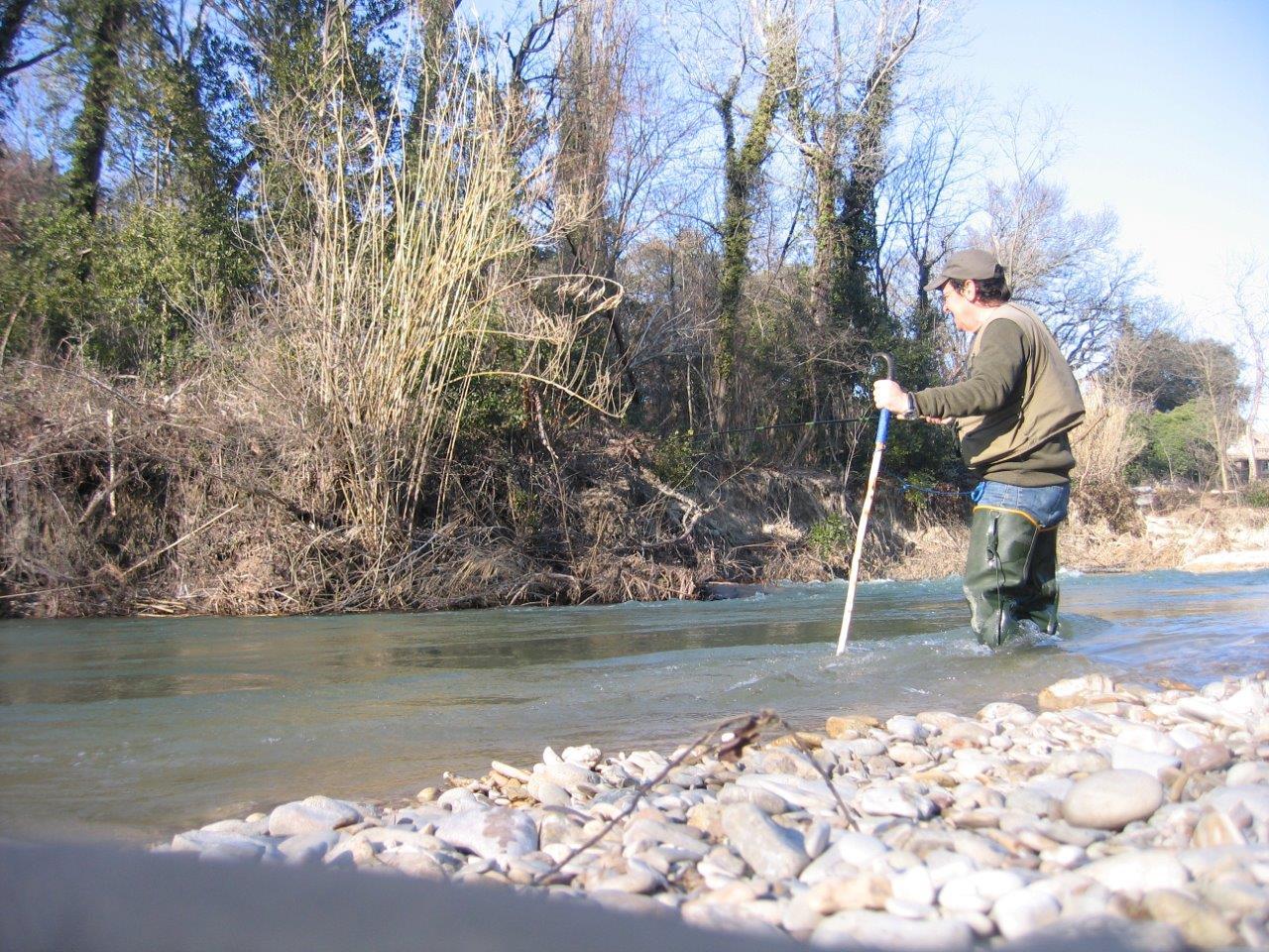 Bâton pour le wading IMG_4878