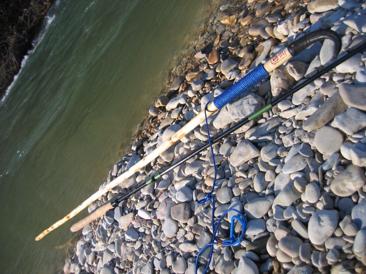 Bâton pour le wading IMG_4891