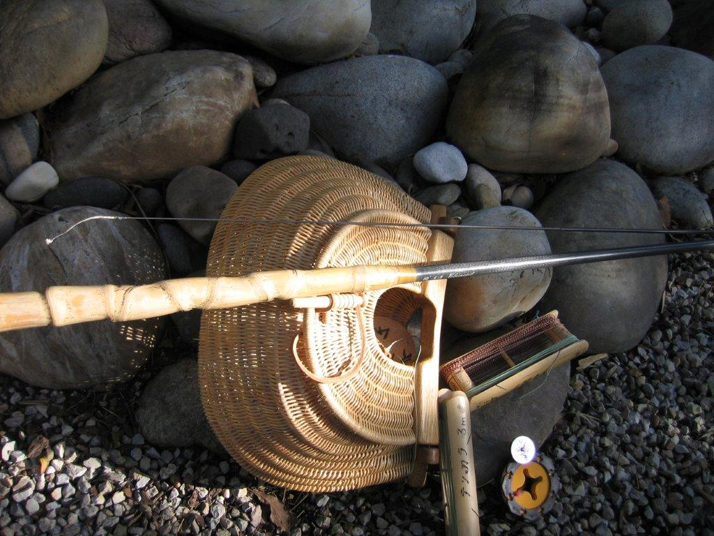 Comment customiser une canne Tenkara Canne5