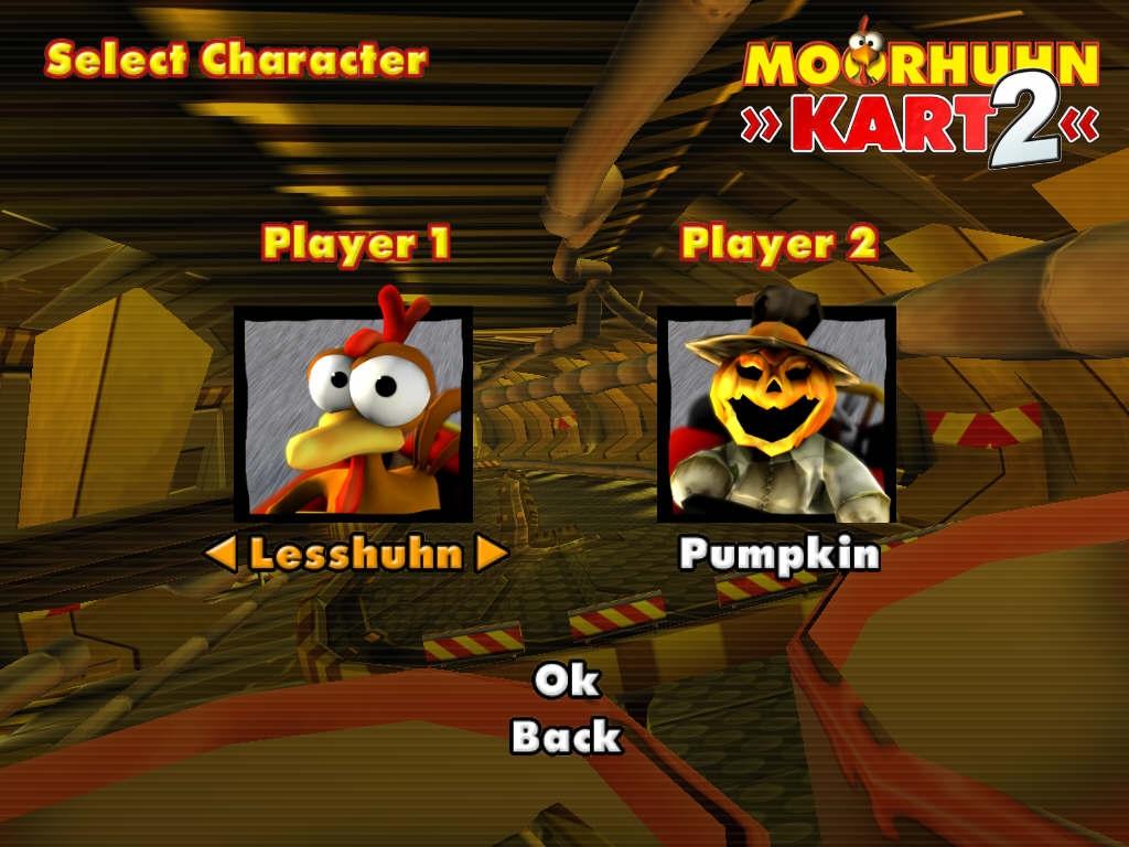 لعبة سباق الدجاج Moorhuhn Kart2 Screenshot_moorhuhn_kart_3_12
