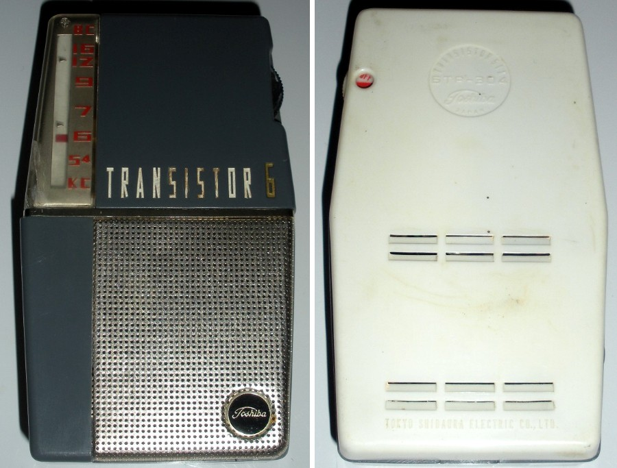Toshiba Radios Toshiba6TR-304s