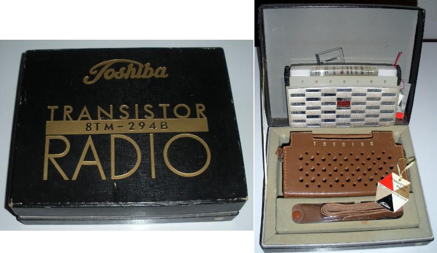 Toshiba Radios Toshiba8TM-2948s