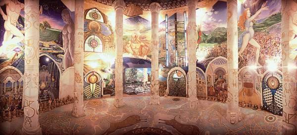 Les temples de Damanhur, un chef d'oeuvre souterrain en Italie Fresque-italie-damanhur1.thumbnail