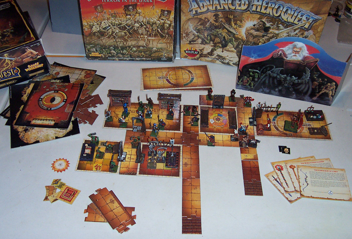 ...HeroQuest... - Page 3 2004-10-21-ahq-contents