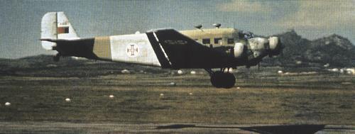 Le Portugal durant la Seconde Guerre Mondiale Ju52-01